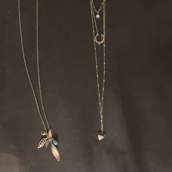 American Eagle Outfitters sweater necklaces
